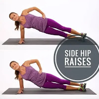 Pilates side hip raises