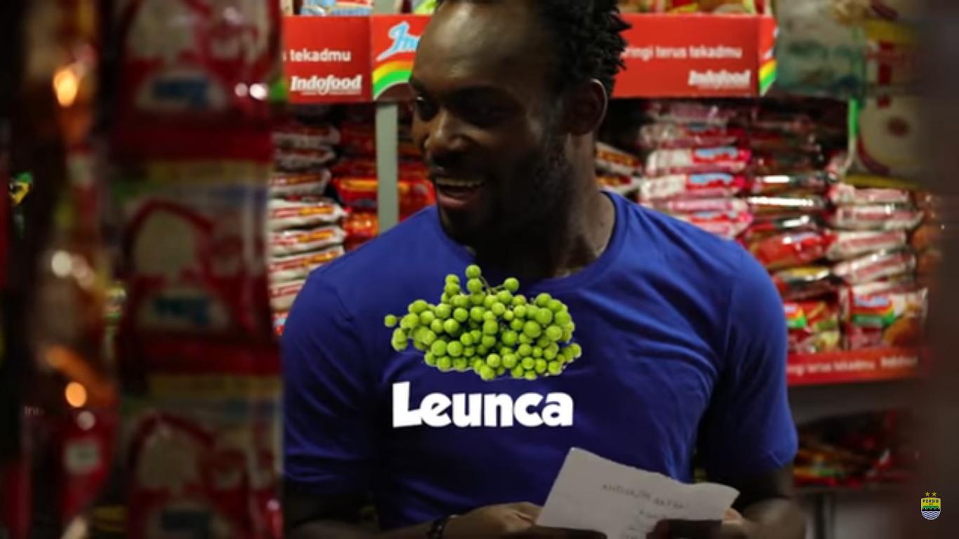 Video Kelucuan Essien Saat Belanja Di Pasar Dengan Berbahasa Sunda