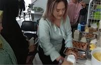 Sakura Roll Cake, Kursus Kue Pekanbaru, Kursus Kue Jakarta, Kursus Kue Medan, Kursus Kue Padang