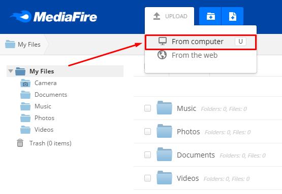Cara Daftar dan Upload File di Mediafire Terbaru 5