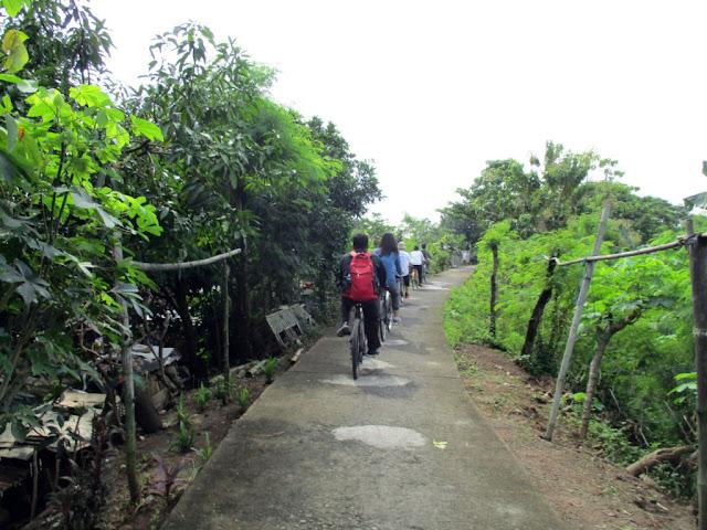 jalan kampung sewu