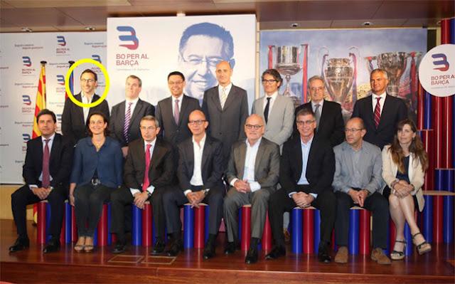 Nike se cuela en la carrera electoral del Barça