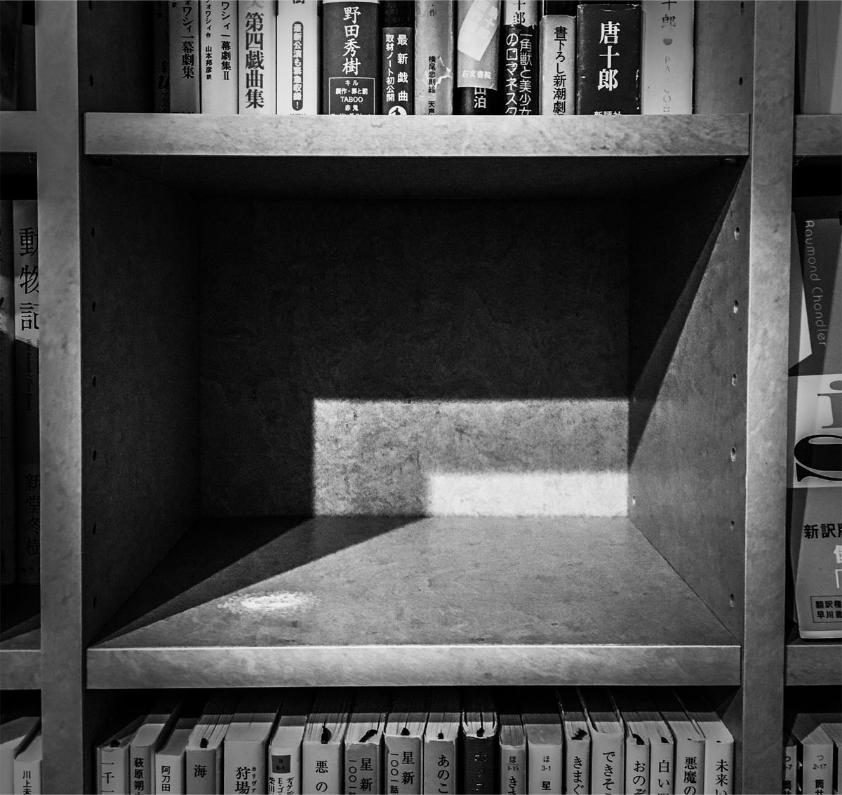 ロウドクシャの本棚
