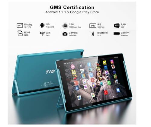TJD 2GB RAM 32GB 1.6GHZ Quad Core Processor 10 inch Tablet