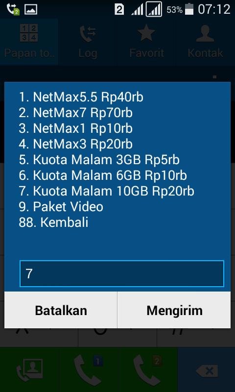 Paket Internet 10gb Harga Rp 20ribu Kartu Tri 3 Kumpulan Remaja