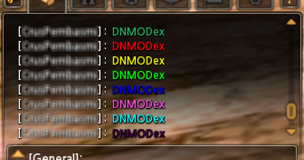Dragon Nest Chat Room Color