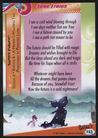 MLP Luna's Future Series 4 Trading Card