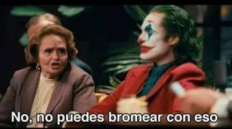 ▷ No, no puedes bromear con eso (Joker)