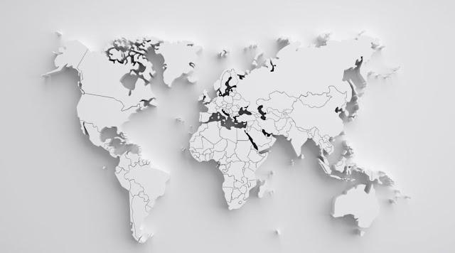 Map of World Wallpaper
