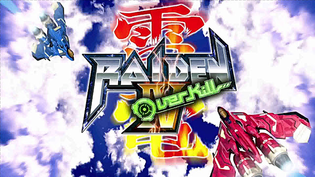 Raiden IV OverKill PC FULL - Portada