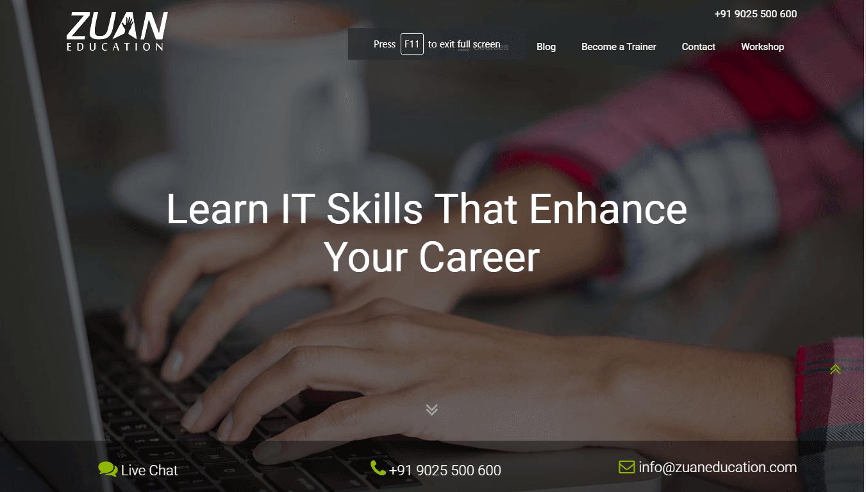 Zuan Education Digital Marketing Training Institute in Chennai - Amudhakumar