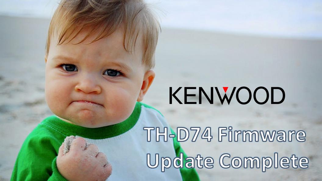 Firmware Is Fun: 2019 Kenwood Updates
