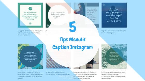 Tips Menulis Caption Instagram untuk Meningkatkan Engagement