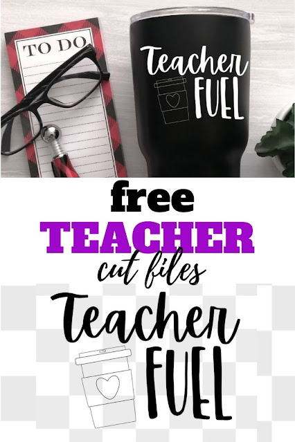 Make simple gifts for back to school with this free teacher coffee mug svg.