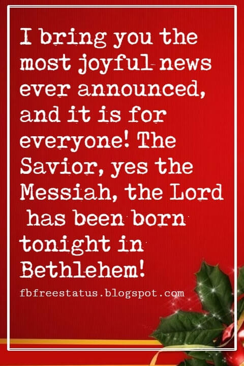 Christmas Religious Quotes For Cards