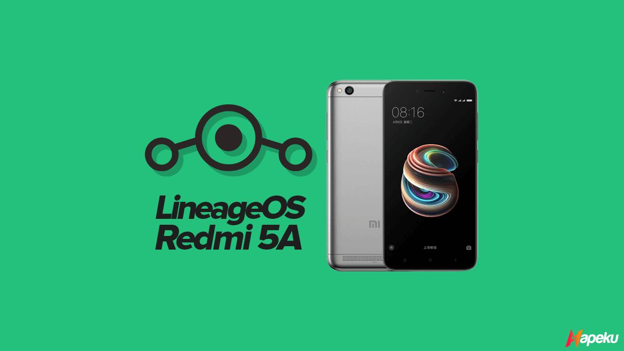 ROM Lineage OS Q Xiaomi Redmi 5A ( RIVA )