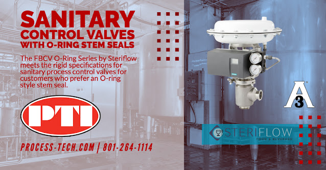 Steriflow FBCV Sanitary Control Valves - OR Version
