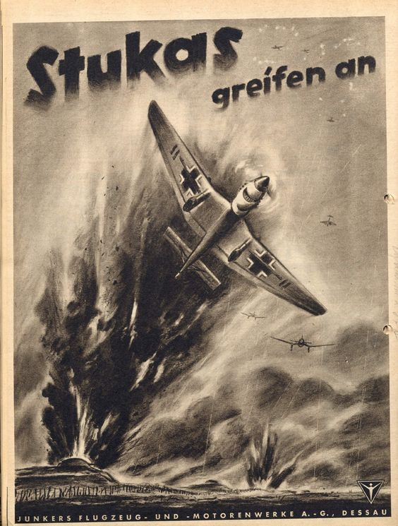 Junkers Ju 87 Stuka Fascist airplane ads worldwartwo.filminspector.com