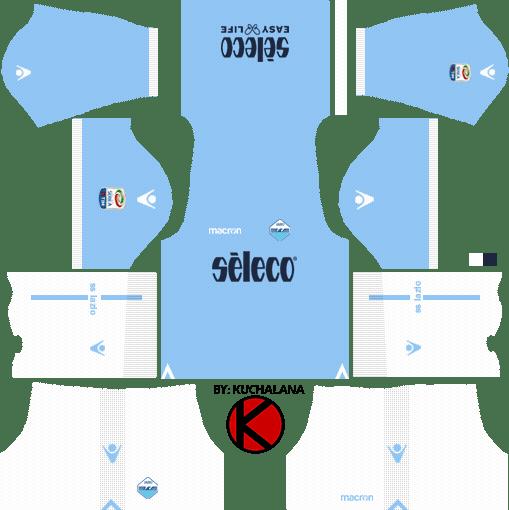S.S. Lazio kits 2017/18 - Dream League Soccer