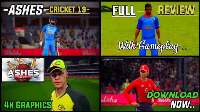 Ashes Cricket 19 on Android | Ashes Cricket 19 Best Cricket Game