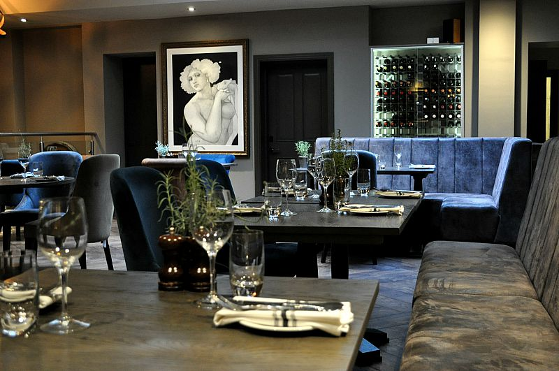fine dining at the Kings Head Hotel