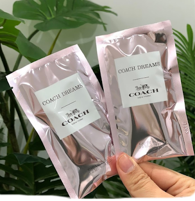 Free sample of Coach Dreams fragrance