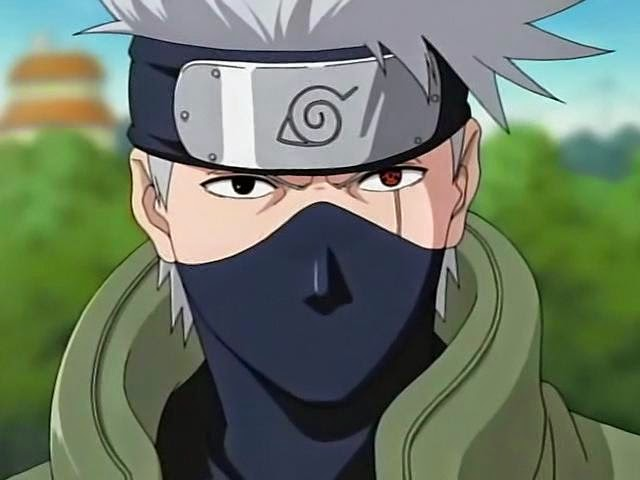 Kakashi Hatake - Top anime Guru paling ideal menurut Charapedia
