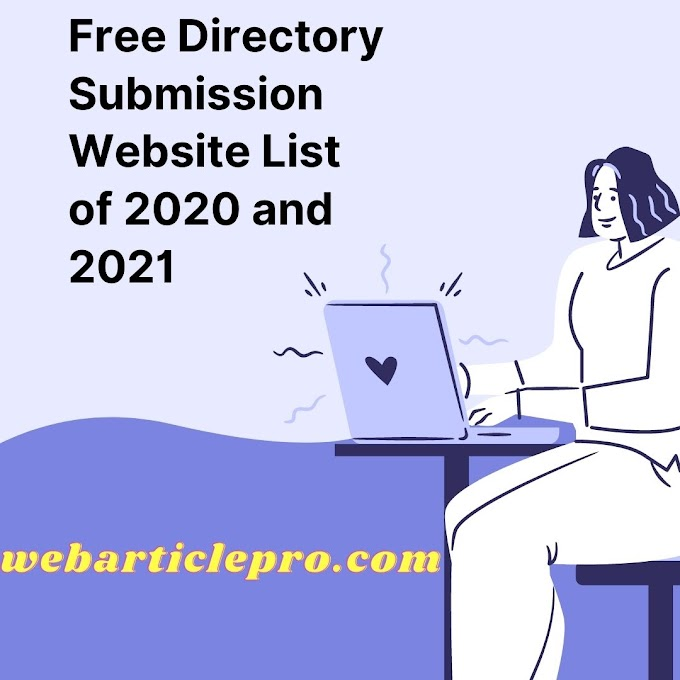 High DA Free Directory Submission Sites list of 2020