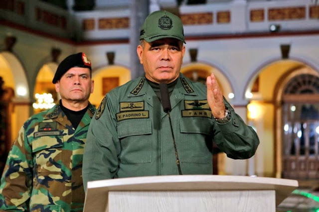 PADRINO LÓPEZ: VENEZUELA LUCHA UNA TERCERA BATALLA DE CARABOBO