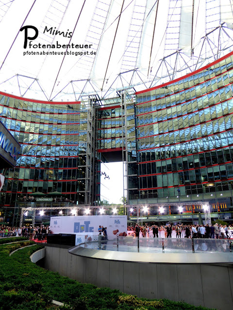 Sony Center bei der Filmpremiere in Berlin
