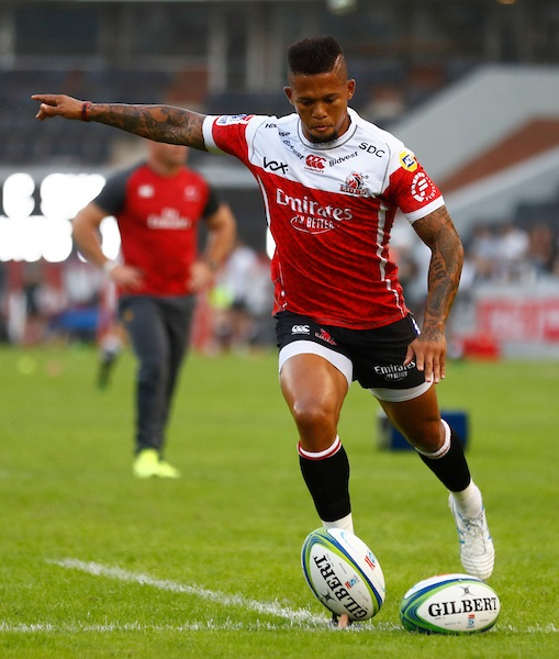 The performance of Elton Jantjies