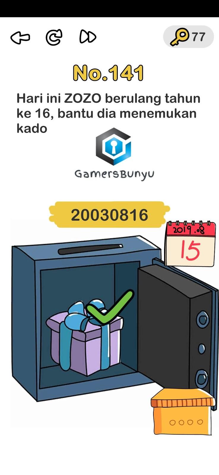 Jawaban Brain Out Level 141 142 143 144 145 146 147 148 149 150 Gamers Bunyu