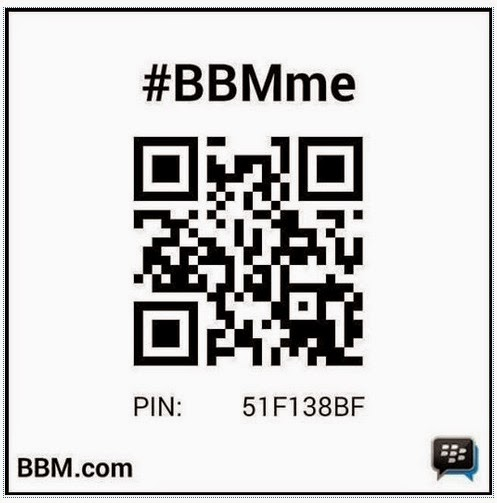 CONTACT ME ON BB