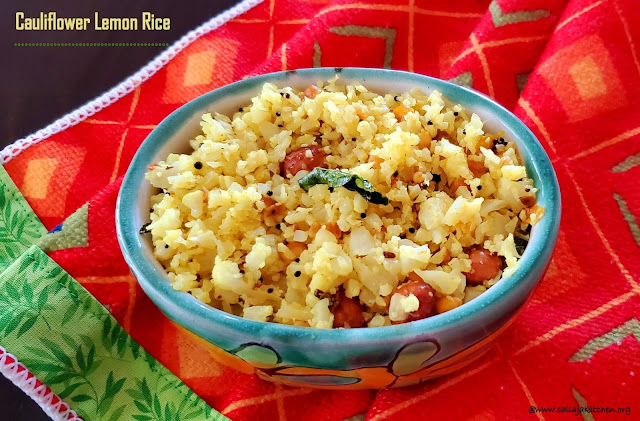 images of Cauliflower Lemon Rice / Lemon Cauliflower Rice