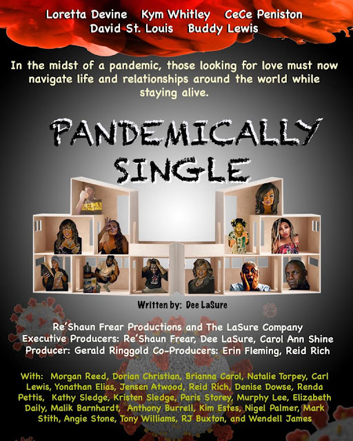 """""""Pandemically Single"""" Hilarious New Comedy Webseries Featuring An All-Star Cast"""