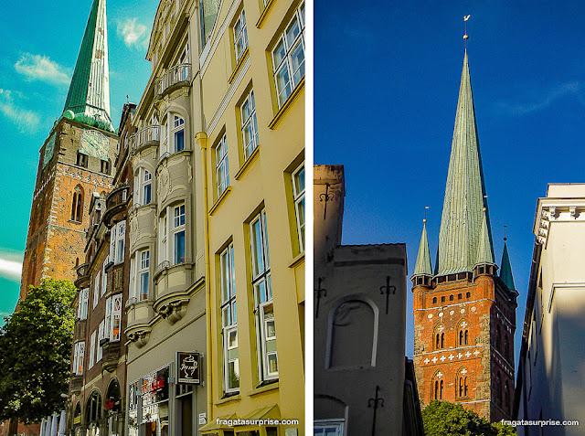 Igrejas de Lübeck, Alemanha