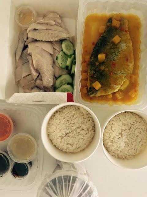 Jew Kit, chicken rice