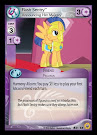 My Little Pony Flash Sentry, Announcing Her Majesty Friends Forever CCG Card