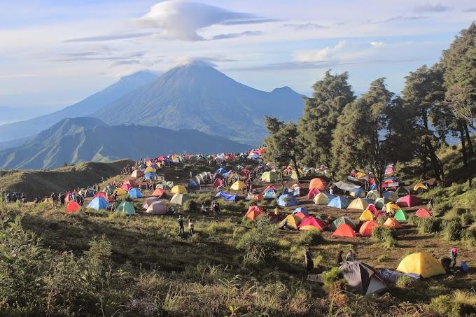 Jalur Pendakian Gunung Prau via Dieng