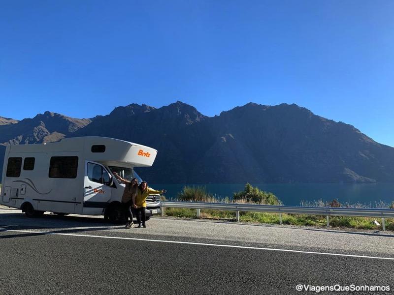 Motorhome na Nova Zelandia