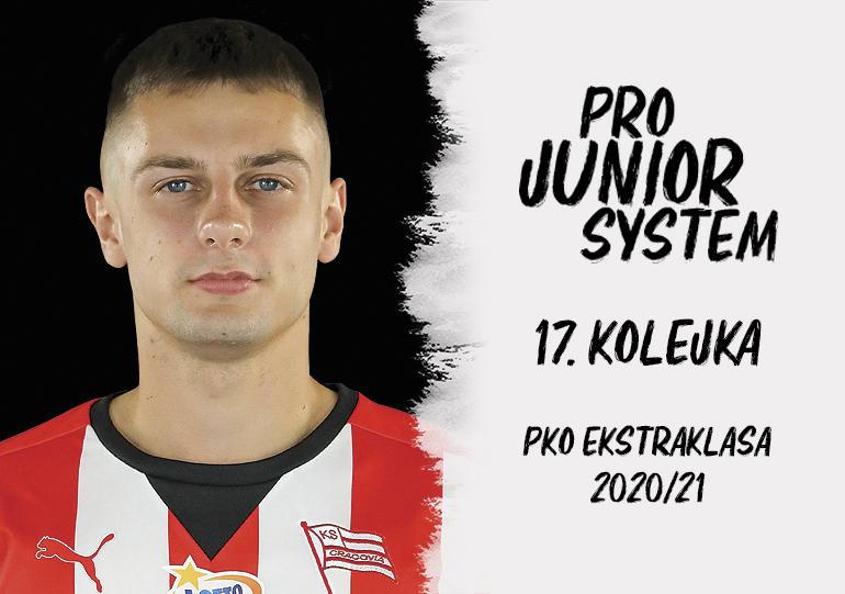 Patryk Zaucha<br><br>fot. Cracovia / cracovia.pl<br><br>graf. Bartosz Urban
