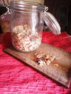 granola muesli croccante crudista sano zero zuccheri aggiunti