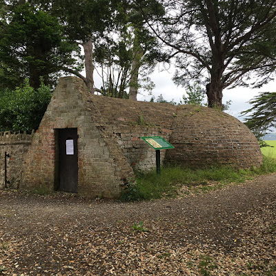 Victorian ice house at Tapeley
