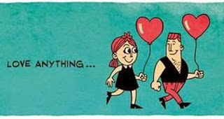 Ketika cinta mulai bersemi, apapun rasanya menyenangkan