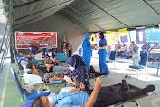 Aksi Kemanusiaan, Lanal Tolitoli Laksanakan Donor Darah Dan Donor Plasma Konvalesen