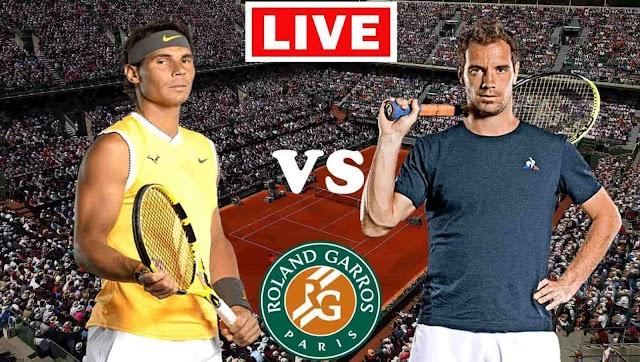 EN VIVO   Rafael Nadal vs. Richard Gasquet   Roland Garros 2021   Ver gratis online en directo el partido de tenis en Tv