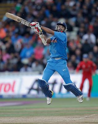 Shikhar Dhawan Run 74 Out
