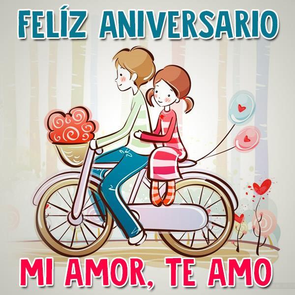 Imagenes De Amor Bonitas Feliz Aniversario Mi Amor