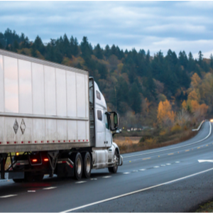 Truck driver prepares for CVSA Inspection Brake Safety Week.