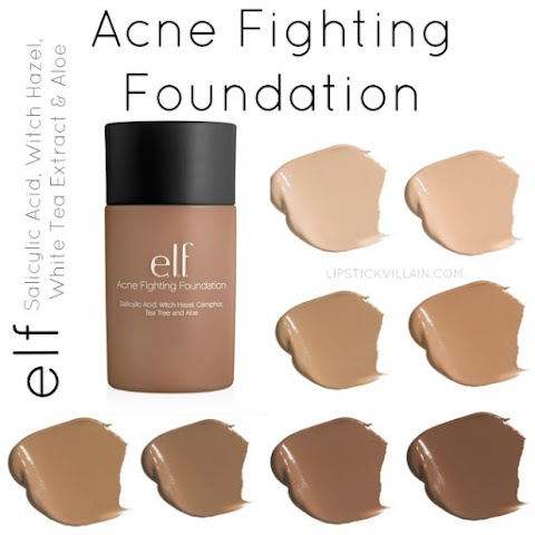 Review Elf Acne Fighting Foundation Beige